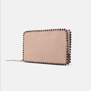 New with tags! Zara studded clutch wallet or bag